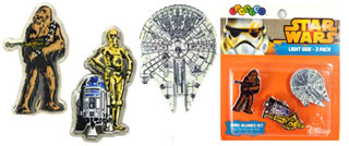 Jibbitz 3 Pack Star Wars Light Side