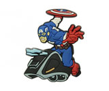 Jibbitz Captain America Vehicle