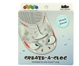 Jibbitz Create a Clog Shark