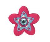 Jibbitz Rhinestone Star Flower
