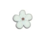Jibbitz Small Flower White